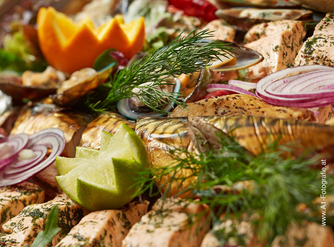 Meeresfrüchte Buffet